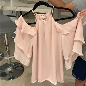 Muted Pink Parker blouse size S